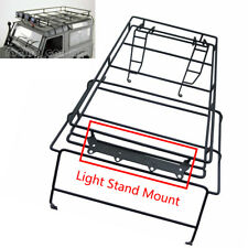 Metal Luggage Roof  Light Stand Rack For 1/10 RC4WD Land Rover D90 Wrangler