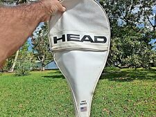Vintage HEAD Pro Series Tennis Racket Cover With Ball Pockets With Zipper