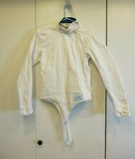 Blue Gauntlet Fencing Jacket 36 Stretch Cotton Pre-owned
