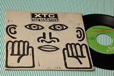 "XTC 7"" SENSES WORKING OVERTIME ORIG ITALY 1982 EX"
