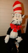 "Manhattan Toy Company Dr. Seuss 20"" Cat in the Hat Plush Stuffed Animal Toy EUC"