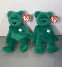 Two Extremely Rare Beanie Babies~ Erin~ With Errors and Rarities