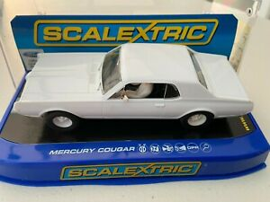 SCALEXTRIC  C3444 FORD PLAIN WHITE SAMPLE NEW BOXED