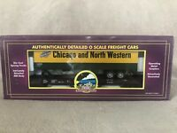 MTH 20-98118 Chicago Northwestern Flat Car with 40' Trailer Car #44238