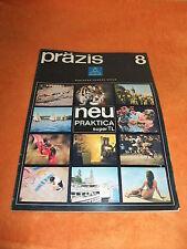 alte DDR Werbung Reklame präzis Pentacon - Kamera - Revue Prospekt Katalog 1968