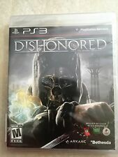 Dishonored (Sony PlayStation 3, 2012) PS3 USED SEALED