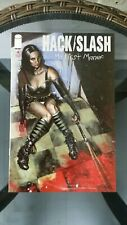 Hack Slash My First Maniac #4 error recalled copy.  NM Cond image comics.
