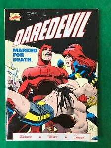 Daredevil: Marked For Death TPB Frank Miller 1st Print 1990 Marvel Comics (3050)