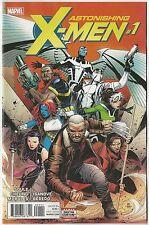 Astonishing X-Men #1 1St Print 2017 Marvel Comics Nm