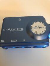 TRENDnet TK 209i - KVM / audio switch - 2 ports