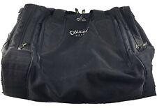 New listing Vintage Callaway Golf Black Overnight Gym Travel Bag Day Embroidered