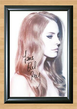 Lana Del Rey Born To Die Signed Autographed A4 Photo Print Poster Shirt cd dvd