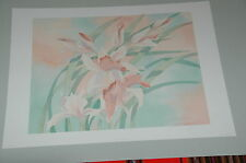 """Vintage Litho """" 20""""X16""""  """"Froral Breeze""""1988 by Robert White.Art Image  Signed"""