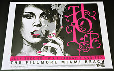 "Hole Courtney Love Concert Poster Miami Beach Fillmore Concert Poster 23""X 17"""