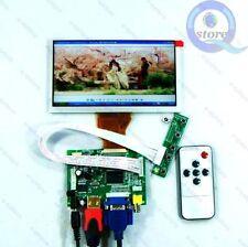 HDMI+VGA+2AV+Remote driver board + 6.5inch AT065TN14 800*480 Lcd Panel Kit