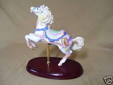 Lenox Collectibles Carousel Horses 1990 Western Pinto