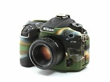 Camera silicone cover  for Nikon D7100  + Screen Protectors Camouflage