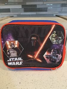 New With Tags Disney's Red & Blue The Force Awakens Star Wars Reusable Lunch Bag
