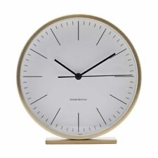 Hannah Gold Table Clock Diameter 15 cm by House Doctor