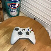 Original Microsoft Xbox 360 Wireless Remote Controller White OEM Tested Great