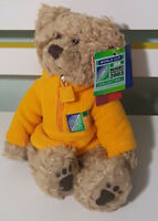 RUSS BERRIE THORNBURY IRB RUGBY TEDDY BEAR PLUSH TOY! SOFT TOY ABOUT 18CM SEATED