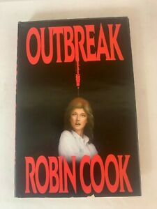 Outbreak Book Hard Cover By Robin Cook LB13