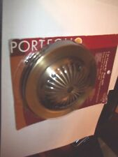 PORTFOLIO 2 IN 1 CANOPY KIT/BLANK-UP KIT ANTIQUE BRASS LIGHT FIXTURE CEILING PC.