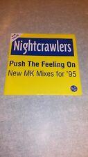 CD single,nightcrawlers, push the feeling on
