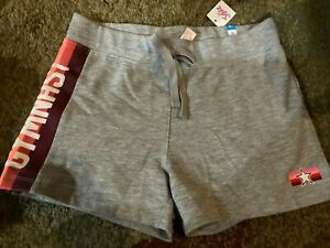 NWT JUSTICE GRAY GYMNAST SHORTS SIZE 14 SHIP EVERYDAY