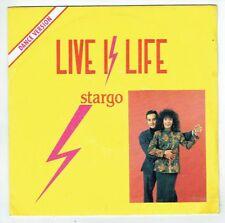 "STARGO Vinyle 45T SP 7"" LIVE IS LIFE - CAPSICUM Avec Photo FLARENASCH 721806"