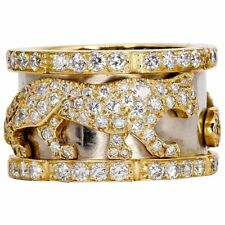 Cartier Panther Diamond and 18K Gold Band