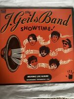 "THE J. GEILS BAND-Showtime- 12"" Vinyl Record LP - EX"