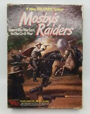 Victory Games MOSBY'S RAIDERS Solitaire  Guerrilla Warfare Civil War Unpunched
