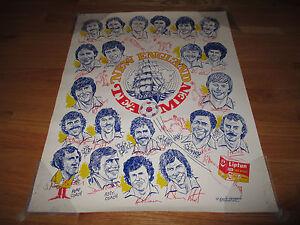 Lipton Tea NEW ENGLAND TEA MEN  Drawing Poster by Eddie Germano MIKE FLANAGAN