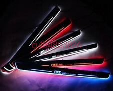 2pcs LED Door sill Scuff Plate threthold Trim Panel for For Audi A5 / S5 / RS5