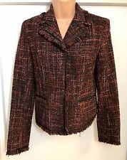 Mexx Ladies Office Jacket Casual Mix Wool Multi Colour Formal Coat Fully Lined