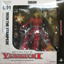 REVOLTECH YAMAGUCHI 09 1 Trigun Vash the Stampede Action Figure from japan F/S
