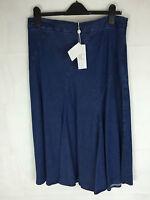 Ladies Long Denim Skirt Size 8 10 12 14 (94) New Summer Skirt  RRP £99.95
