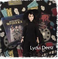 SALE! Lydia Deetz CUSTOM HORROR DOLL Beetlejuice OOAK Version 1