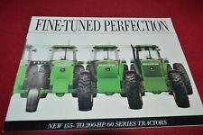 John Deere 4560 4760 4960 Tractor Dealer's Brochure YABE18