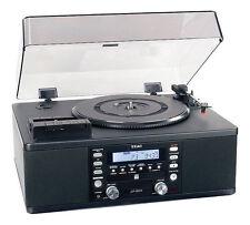 TEAC LP-R500 Turntable - Black - Record Vinyl - CD Rip Ripper Player Copy System