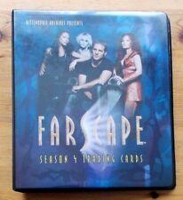 Farscape Season 4 Four trading card binder album Rittenhouse 2003