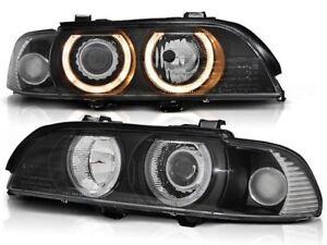 BMW 525i 530i 540i E39 1995 1996 1997 1998-2003 LPBM07 HEADLIGHTS HALO XENON