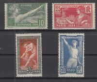 6947/ FRANCE – OLYMPIC GAMES – Y&T # 183 / 186 COMPLETE MINT – CV 190 $