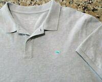 Vineyard Vines Men's 2XL xxl Gray Shirt Polo Embroidered Button New 8312099