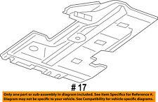 Dodge CHRYSLER OEM 11-18 Charger Floor Rails-Shield Left 57010353AH
