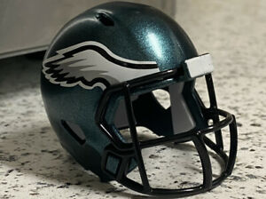 Philadelphia Eagles NFL Helmet Riddell Pocket Pro Speed Style with Logo Pin