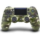 Green Camo Sony DualShock PlayStation 4 PS4 Wireless Controller New Slim Version