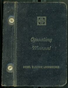 RR Operating Manual for Diesel-Electric Locomotives on the Santa Fe