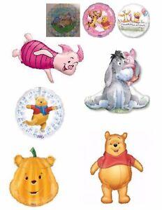 Winnie The Pooh Bear Helium Balloons Party Ware Decoration Piglet Tigger Eyeoor